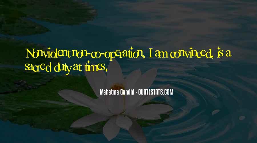 Gandhi Pro War Quotes #11621