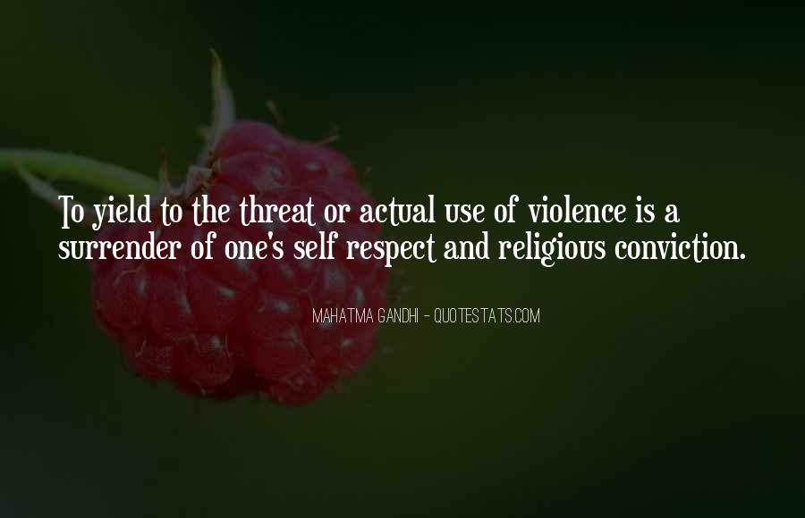 Gandhi Pro War Quotes #1330