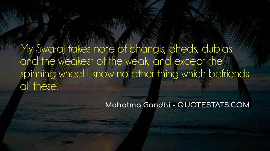 Gandhi Pro War Quotes #20711