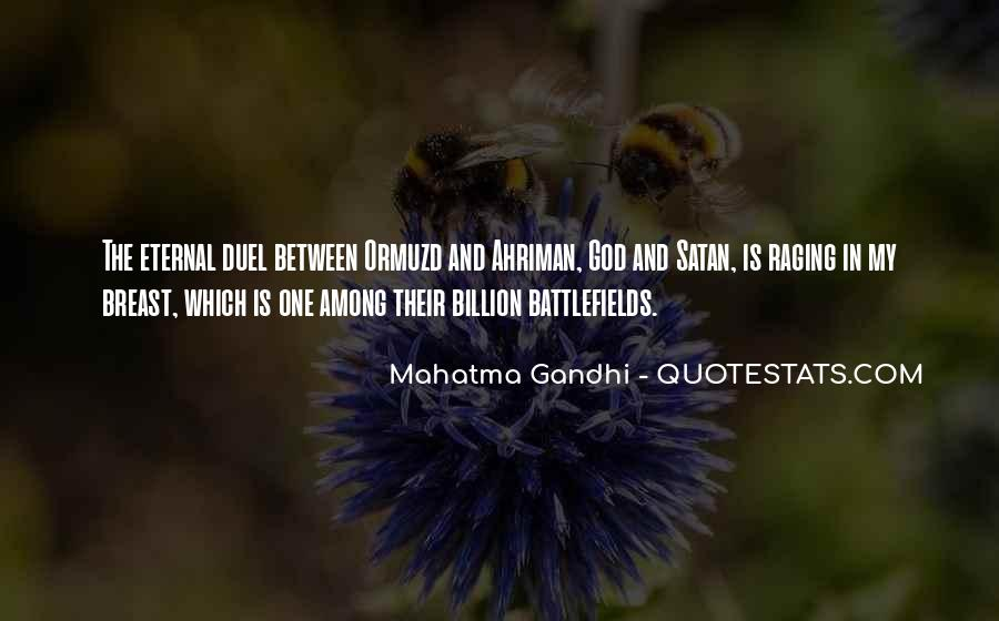 Gandhi Pro War Quotes #21284