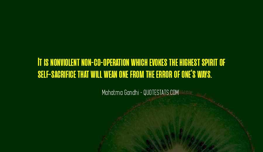 Gandhi Pro War Quotes #25041