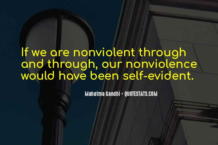 Gandhi Pro War Quotes #25377