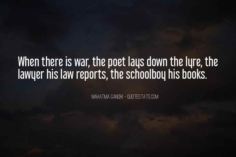 Gandhi Pro War Quotes #29020