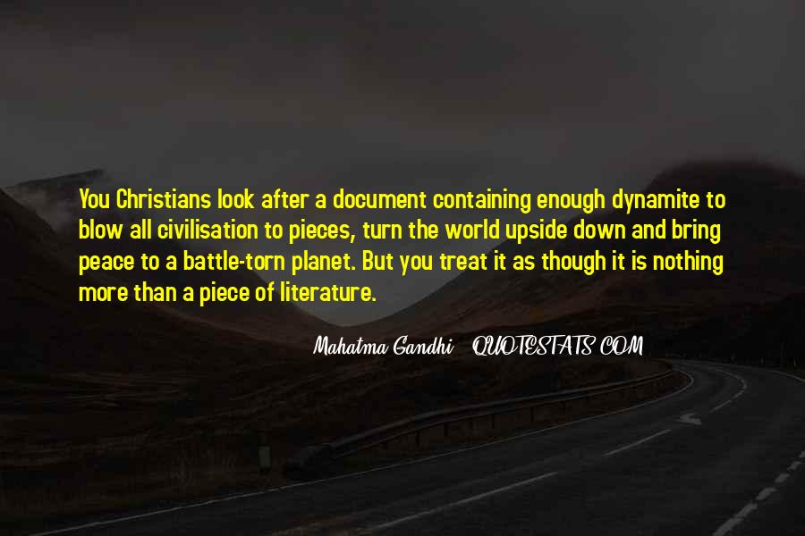 Gandhi Pro War Quotes #33795