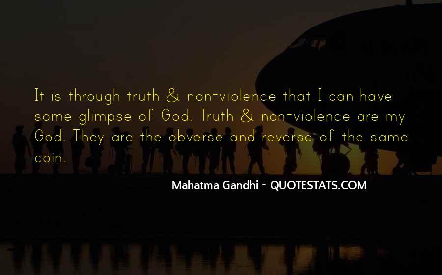 Gandhi Pro War Quotes #37479
