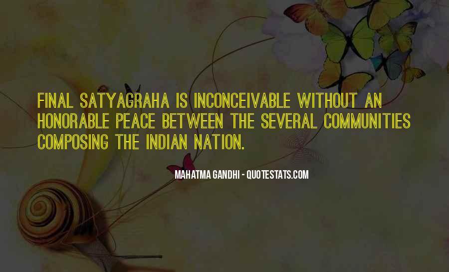 Gandhi Pro War Quotes #38447