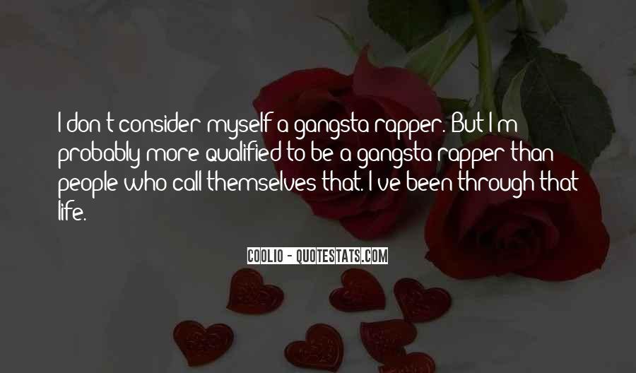 Gangsta Pic Quotes #1670512
