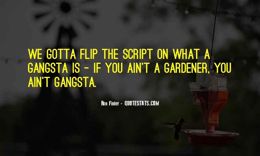 Gangsta Pic Quotes #1741589