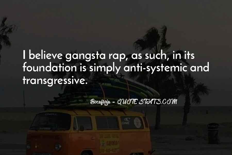 Gangsta Pic Quotes #174926