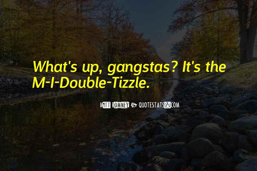 Gangsta Pic Quotes #236005