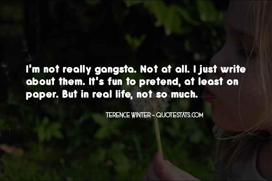 Gangsta Pic Quotes #43450