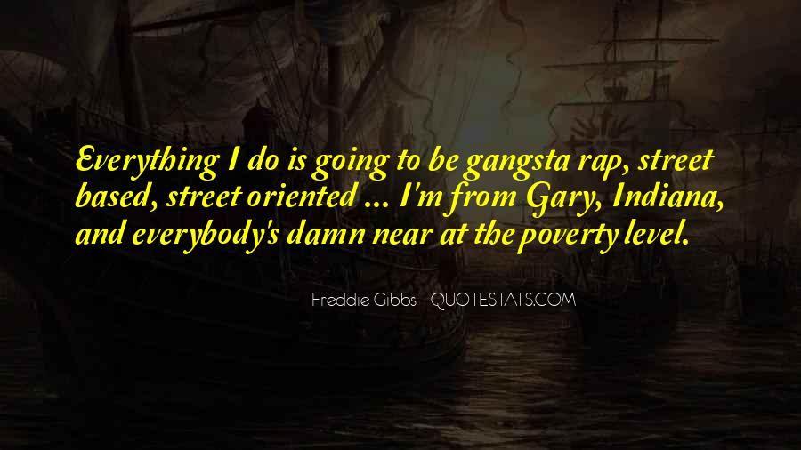 Gangsta Pic Quotes #661995