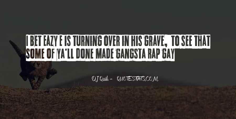 Gangsta Pic Quotes #692120