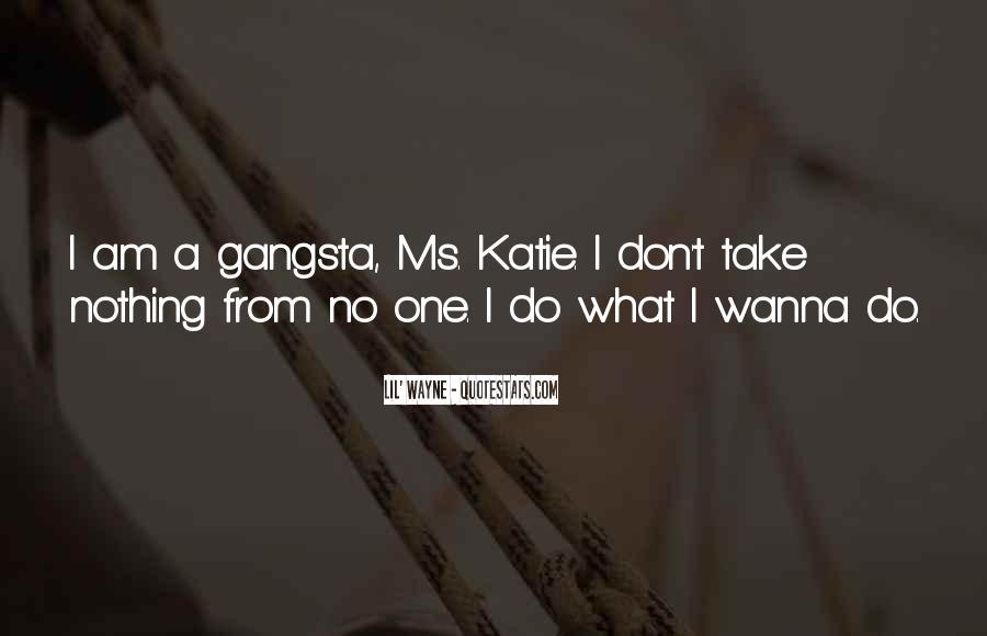 Gangsta Pic Quotes #744666