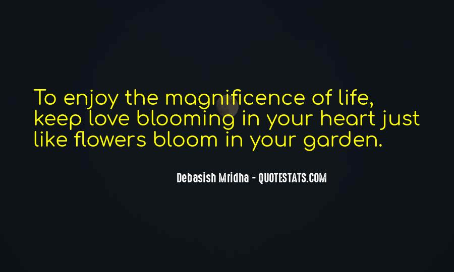 Garden Blooming Quotes #1070247