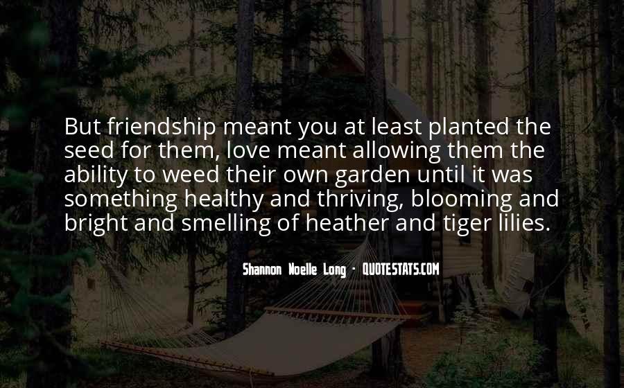 Garden Blooming Quotes #51636
