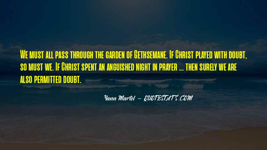 Garden Of Gethsemane Quotes #989478