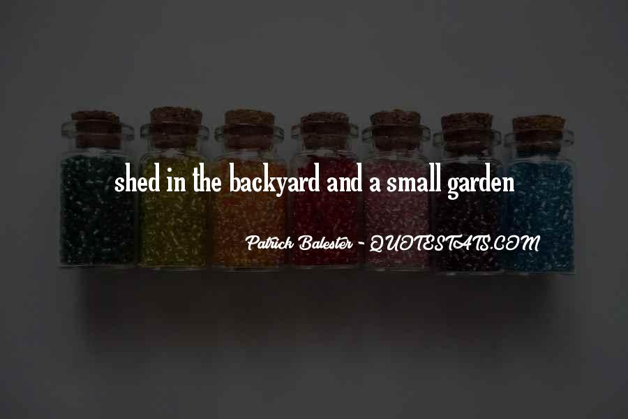 Garden Shed Quotes #1059653