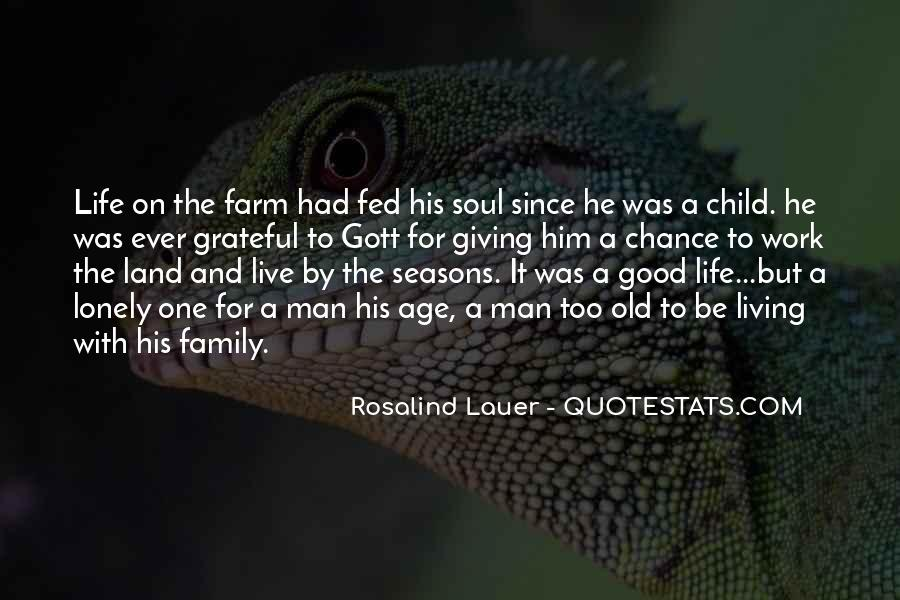 Quotes About The Farm Life #109720
