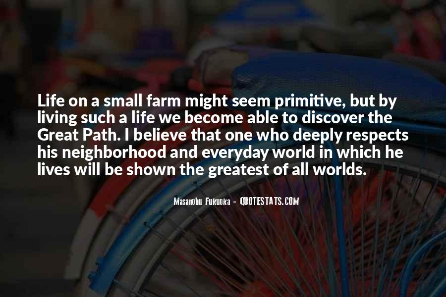 Quotes About The Farm Life #290976