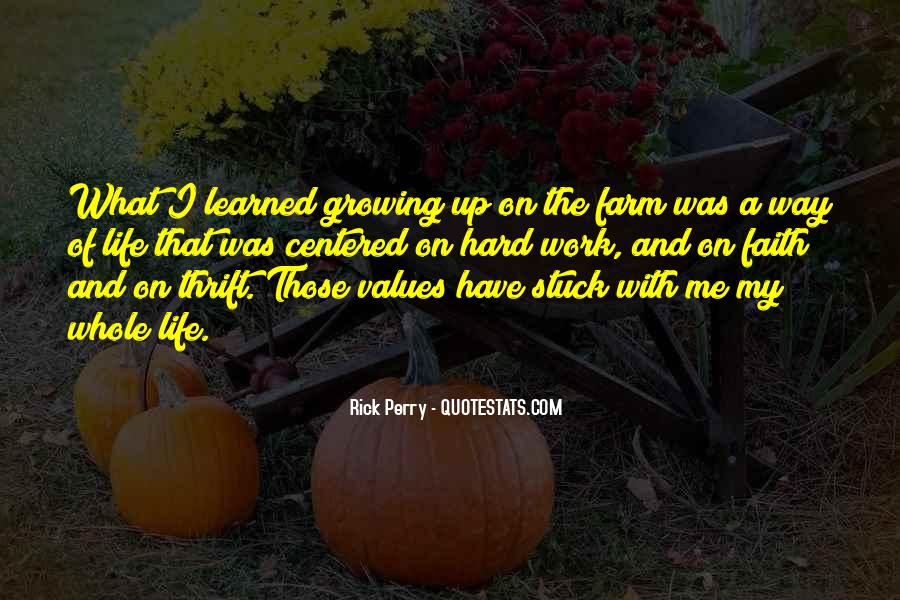 Quotes About The Farm Life #460561