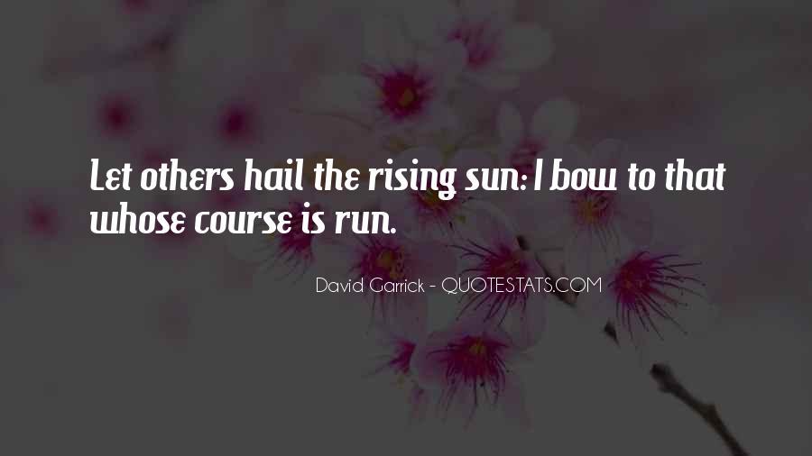 Garrick Quotes #1803110