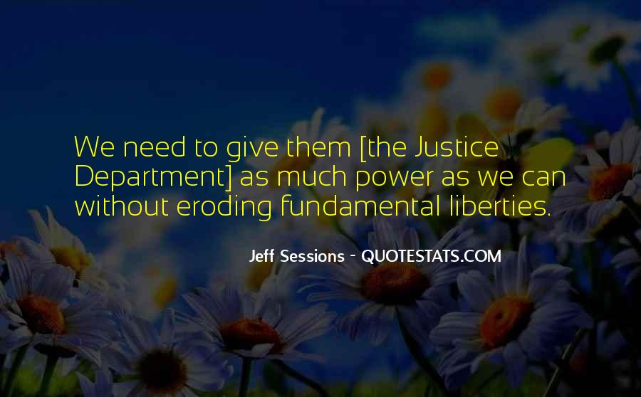 Quotes About Giving Up Liberties #291380