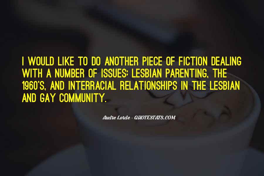 Gay Interracial Quotes #285204
