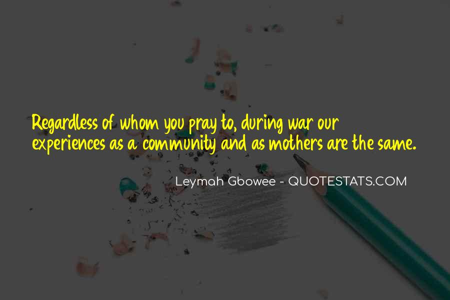 Gbowee Quotes #1440647