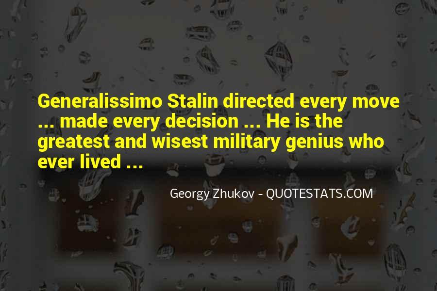 Generalissimo Quotes #265862