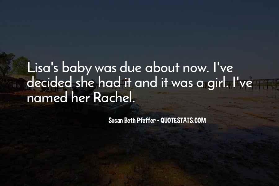 Quotes About Girl Baby #233513