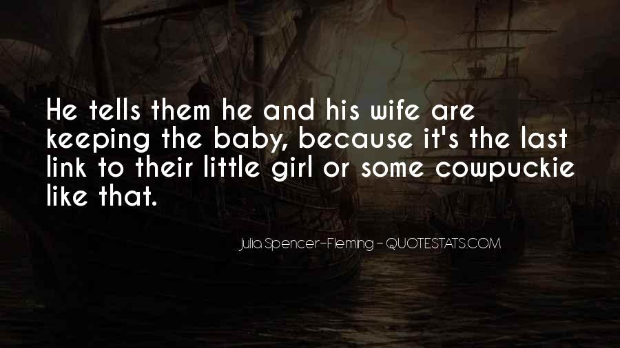 Quotes About Girl Baby #889365