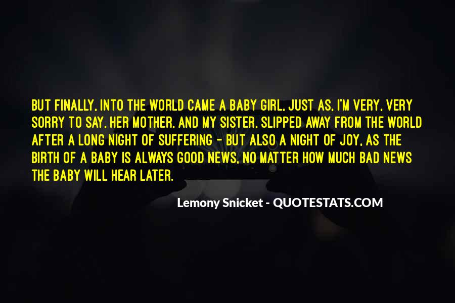 Quotes About Girl Baby #929394