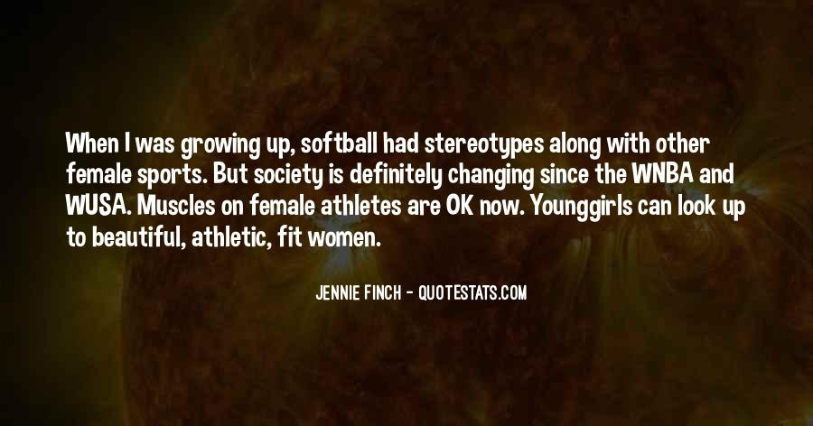 Quotes About Girl Athletes #1760638
