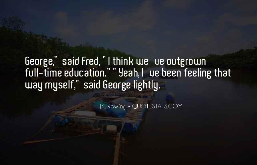 George And Fred Weasley Quotes #1827867
