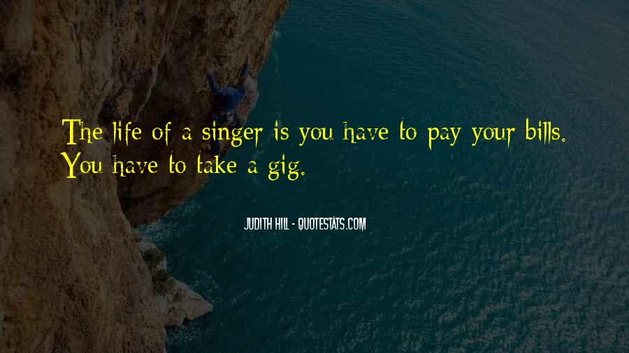 Quotes About Gig #87159