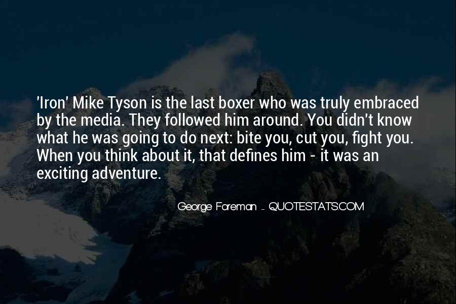 George Foreman Boxer Quotes #325963