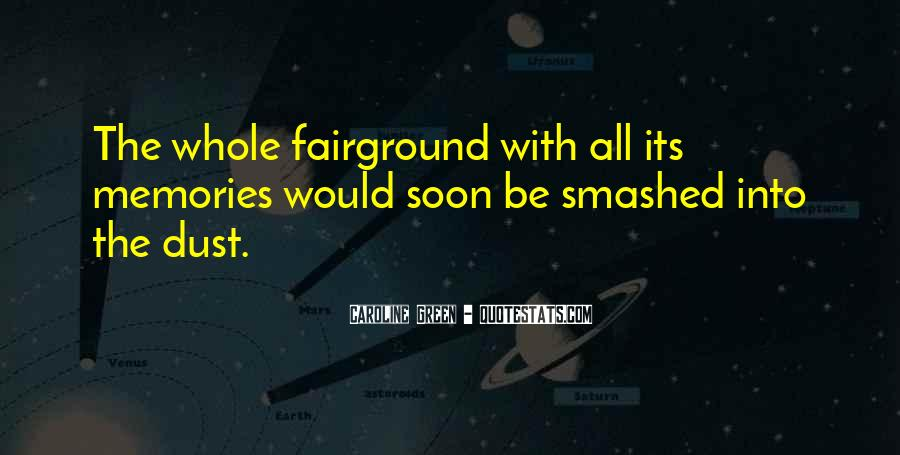 Quotes About The Fairground #1054553