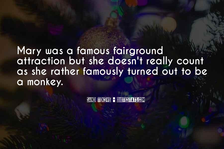 Quotes About The Fairground #144270