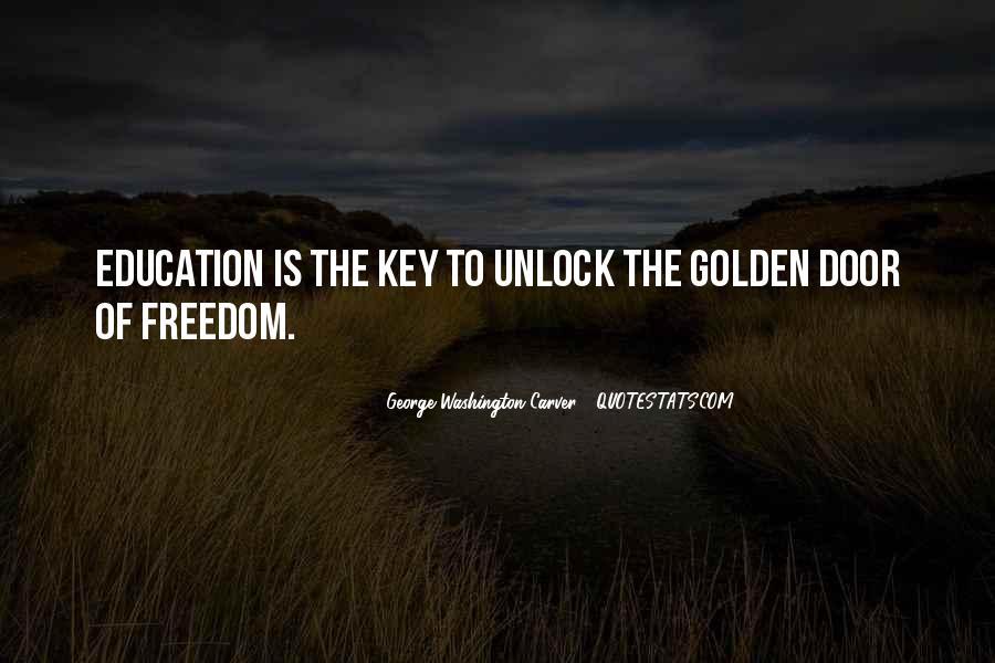 George Washington Carver Education Quotes #1091543
