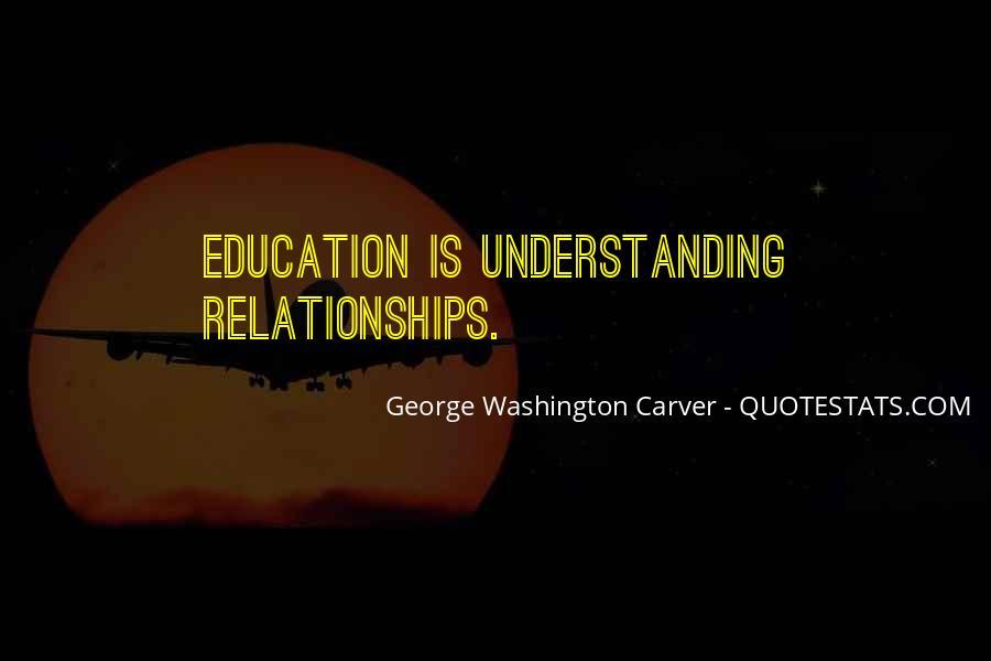 George Washington Carver Education Quotes #347492