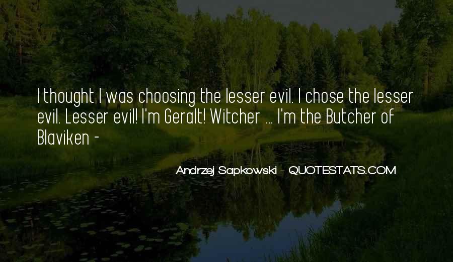 Geralt Witcher Quotes #1025450