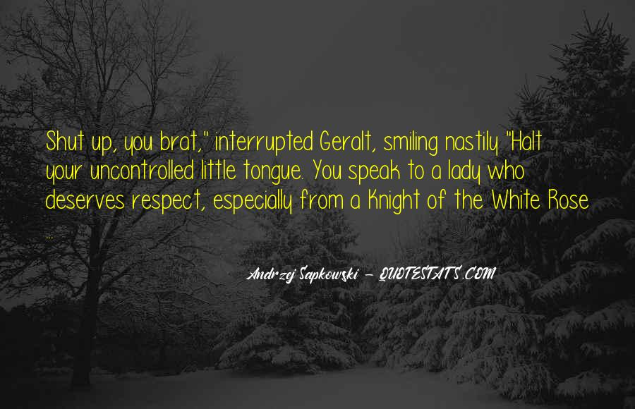 Geralt Witcher Quotes #1605391