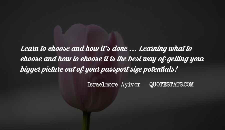 Quotes About Getting Your Way #114919