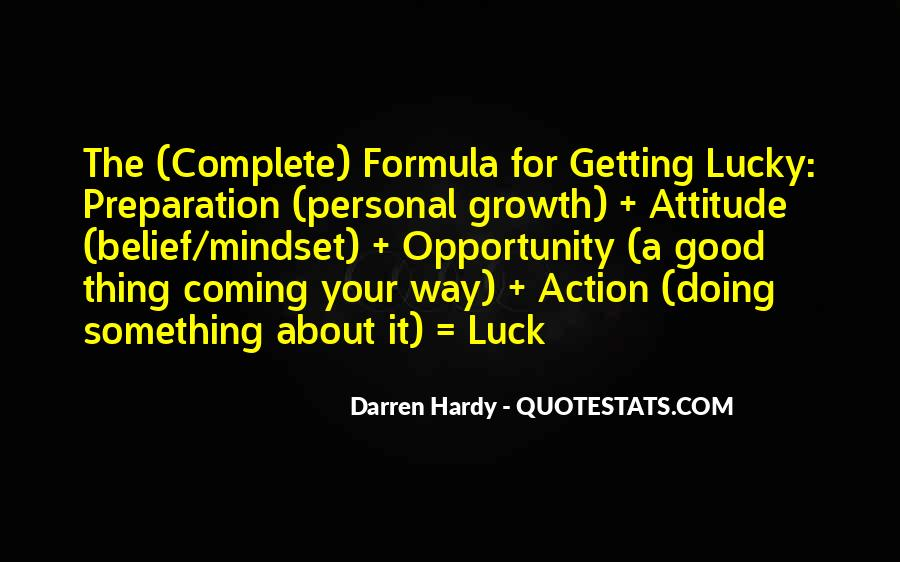 Quotes About Getting Your Way #161858