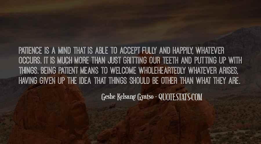 Geshe Kelsang Quotes #1773428