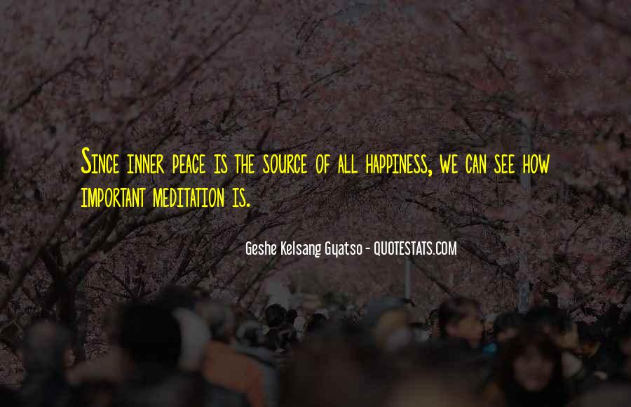 Geshe Kelsang Quotes #39015