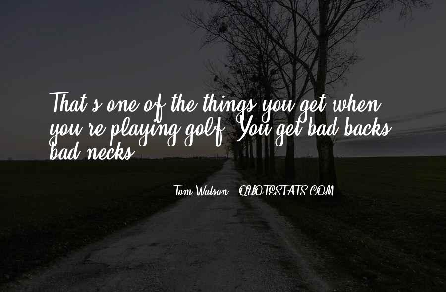Get Backs Quotes #288503