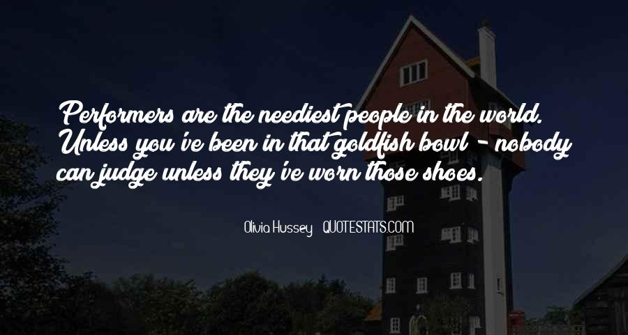 Get In My Shoes Quotes #11340