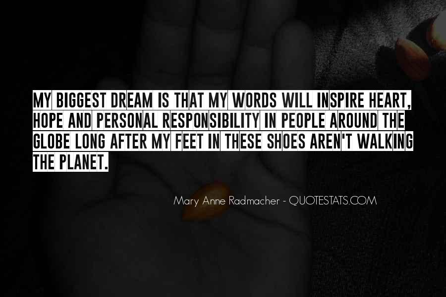 Get In My Shoes Quotes #18986